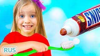 Утренняя рутина - Детская песня | Песни для детей с Милли и Семья