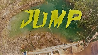 Scaffold jumping, Cape York QLD, Australia