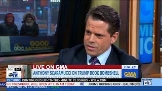 Scaramucci rebukes Bannon: There's no one 'less treasonous' than Donald Trump Jr.
