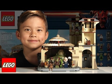 jabba's-palace-lego-star-wars-set-9516---time-lapse-build,-unboxing-&-review-in-1080p-hd