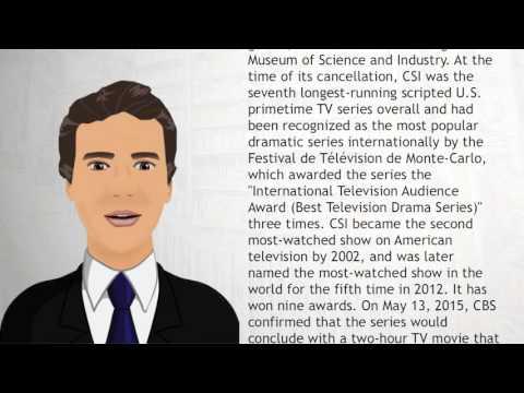 CSI: Crime Scene Investigation - Wiki Videos