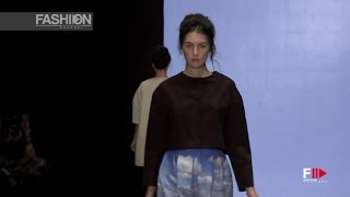 NATALI LESKOVA Mercedes-Benz Fashion Week Russia Spring 2016 by Fashion Channel
