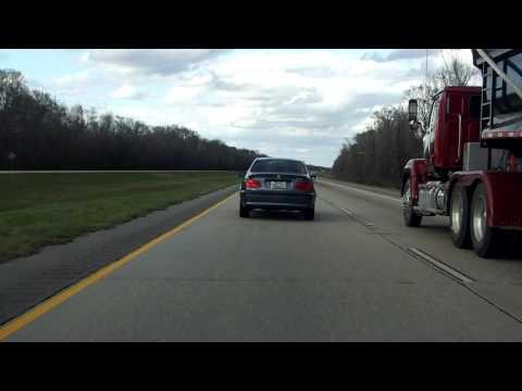 Interstate 59 - Louisiana northbound