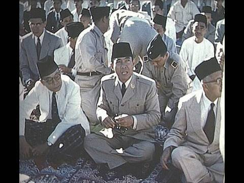 TV interview on filming Pres. Sukarno in 1955