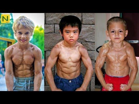 世界の筋肉少年 TOP 3