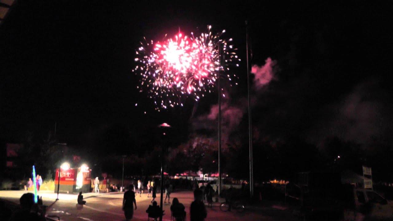 Fireworks in Derby Days Redmond 2013