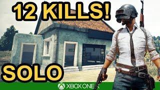 PUBG / 12 KILL SOLO WIN / Xbox One X