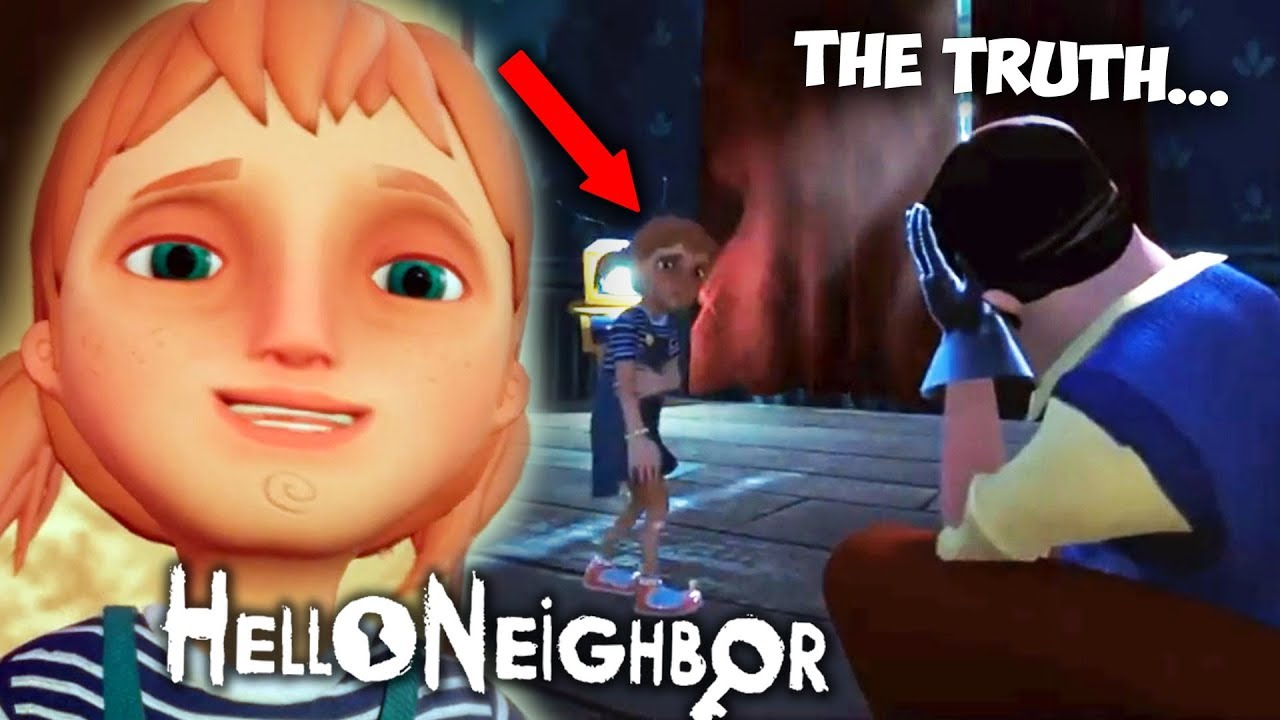 He Hurt His Daughter The Story Of Hello Neighbor You Dont Know Hello Neighbor Hide And Seek