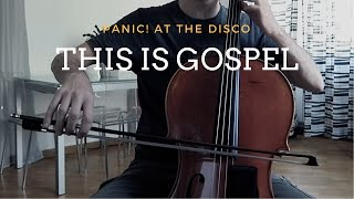 Panic! At the disco - This is gospel for cello and piano (COVER)