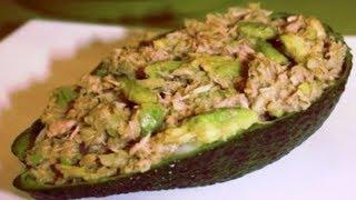 #Рецепт салата с авокадо, тунцом и огурцом. Вот что стоит попробовать, готовим дома