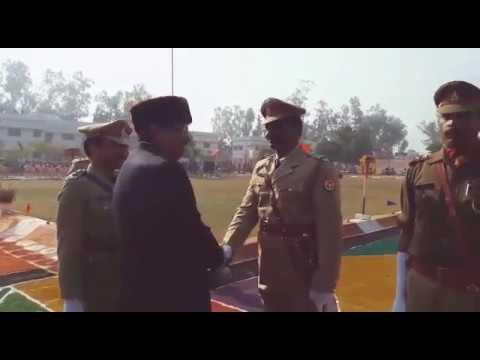 Mainpuri police line parade 2017
