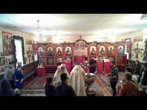 Baptism and Divine Liturgy - 2017-01-08