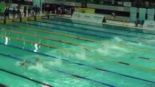2015全港運動會男子50米自由式決賽