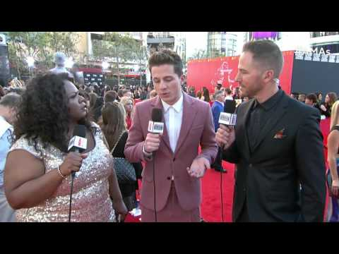 Charlie Puth Red Carpet Interview - AMAs 2015