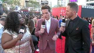 Charlie Puth Red Carpet Interview AMAs 2015