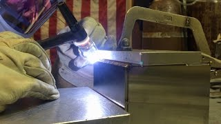 Tig Welding a Stainless Steel Argon Box part 1 of 2 thumbnail