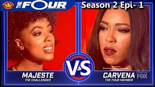 "Carvena Jones vs Majeste Pearson & RESULTS  ""Love Don't Live Here Anymore""  The Four Season 2"