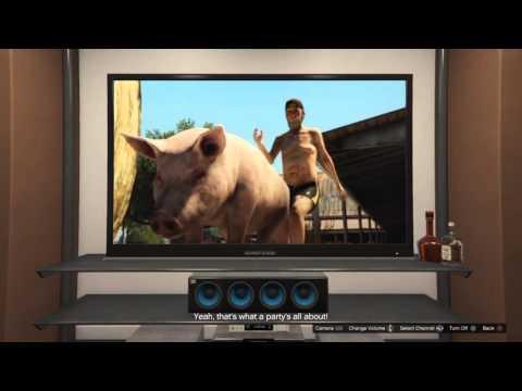 Grand Theft Auto V Pisswasser TV Commercial