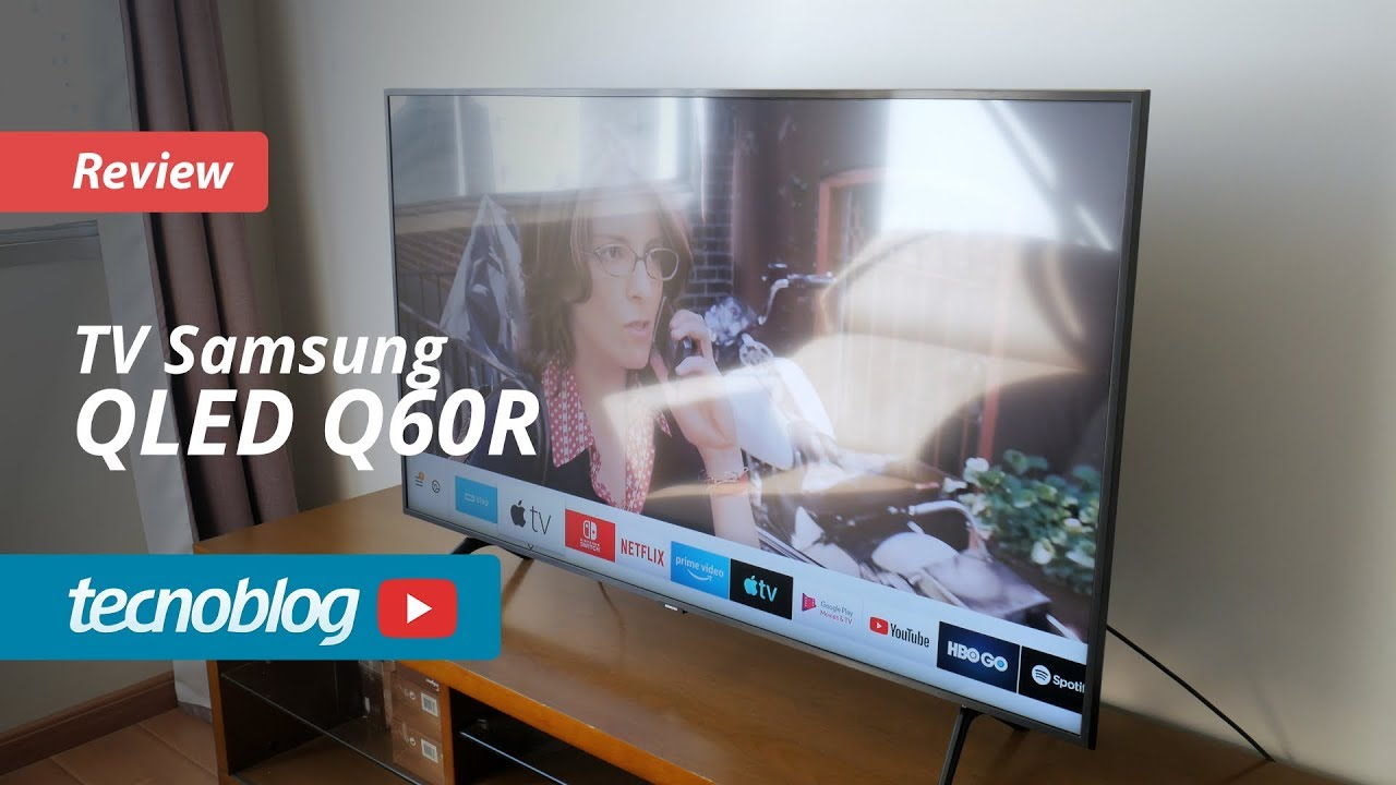Tv Qled Samsung Q60r Review Tecnoblog Youtube