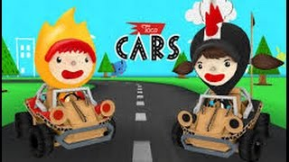 Toca Cars - best iPad/iPhone apps for kids - Ellie