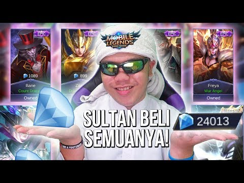 SULTAN BELI SEMUA SKIN DI SHOP!?!? NOT CLICKBAIT! HAHAHA!! - Mobile Legends Indonesia #49
