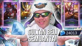 SULTAN BELI SEMUA SKIN DI SHOP!?!? NOT CLICKBAIT! HAHAHA!! - Mobile Legends Indonesia #49