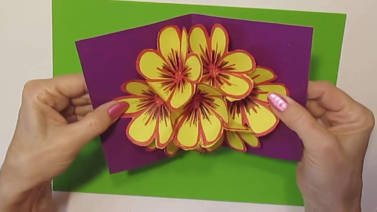 Подарок на день рождения видео открытка