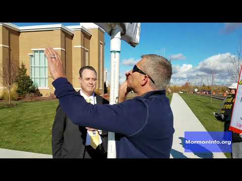 Rob Sivulka Preaching at the Meridian, ID LDS Temple Opening