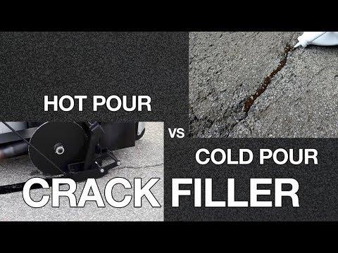 THE KEY DIFFERENCES BETWEEN COLD POUR & HOT POUR ASPHALT CRACK FILLER