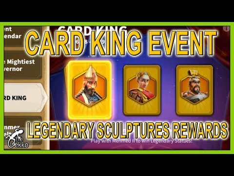 Mehmed, Julius or Cao Cao KINGS CARDS - Rise of Kingdoms