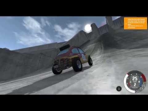 Örümcek Çocuk Beamng Drive Oynuyor