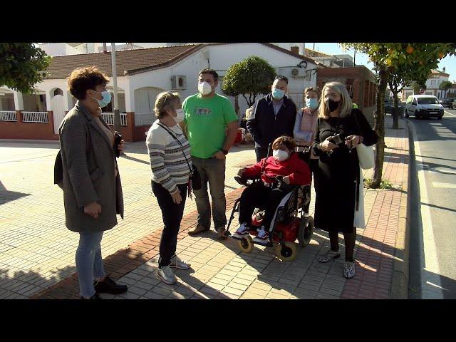 Cartaya Tv   Plan de eliminación de barreras arquitectónicas en los tres núcleos poblacionales