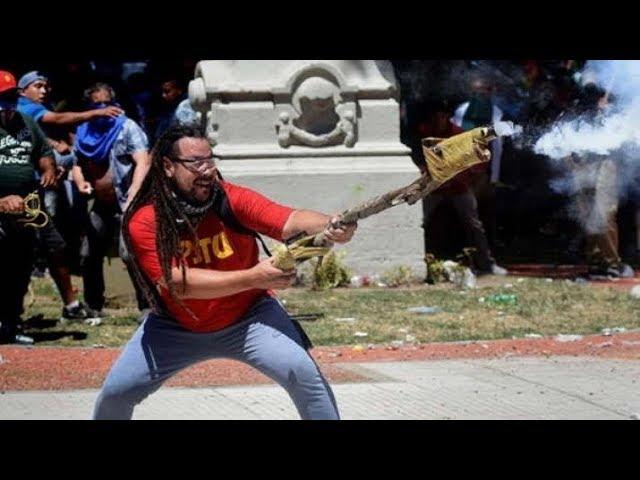 Piden detener a Sebastián Romero, el hombre del mortero