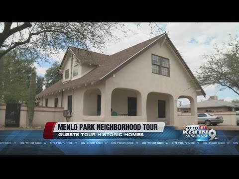 Menlo Park neighborhood tour