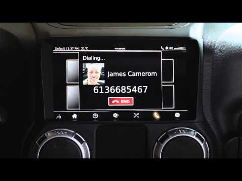 Feature-by-feature demo of the QNX CAR Platform for Infotainment