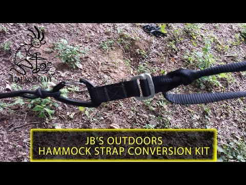 JB's Outdoors Supply - Hammock Strap Conversion Kit