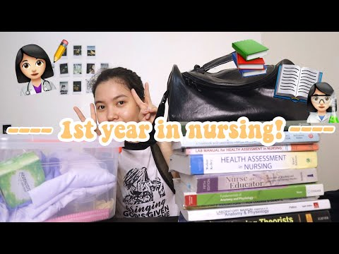 📚WHAT IT LOOKS LIKE TO BE A FRESHMAN NURSING STUDENT? (Philippines) | Dencel Ulson