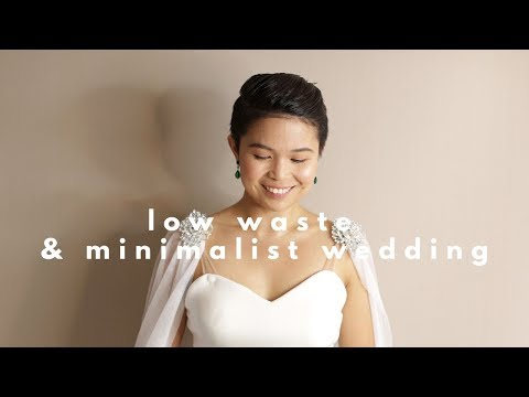 Tips on How to Plan a Low Waste and Minimalist Wedding in the Philippines