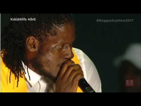 Aidonia, Govana , Tanso Live @ REGGAE SUMFEST 2017