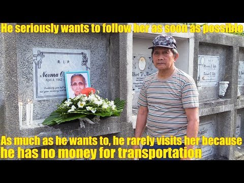 Meet this Poor Filipino Old Man from Manila Philippines. USA in the Philippines. Trip to Vietnam