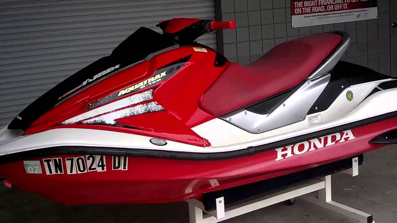 Honda Jet Ski >> Used 2003 Honda AquaTrax R 12X Turbo For Sale Honda of Chattanooga TN Turbo PWC For Sale - YouTube