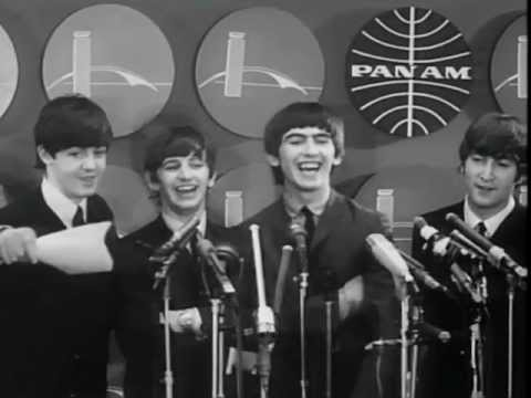 Image result for the beatles arrive in usa