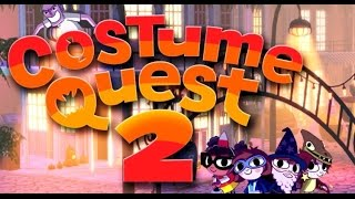 Lets Play: Costume Quest 2 Part 13 - Last Part Robot Costume and Overlord White