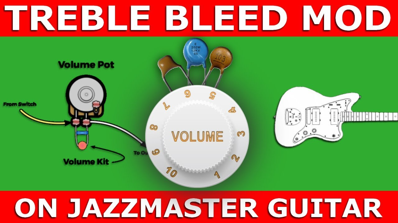 hight resolution of  guitartone treblebleed capacitor
