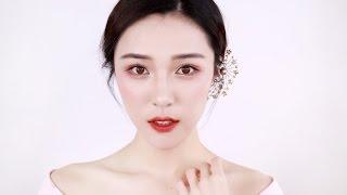 秋冬粉色樱花妆 Cherry Blossom Makeup [仇仇-qiuqiu] thumbnail