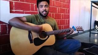 kal chaudhvi ki raat thi- jagjit singh- acoustic guitar cover