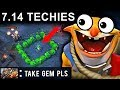 500 IQ TECHIES NEW PATCH 7.14 DOTA 2 NEW META GAMEPLAY #88 (FUNNY MOMENTS CARRY TECHIES)