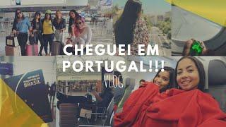 PRIMEIRA VIAGEM INTERNACIONAL - CHEGUEI PORTUGAL!!!/ Marcela Maria