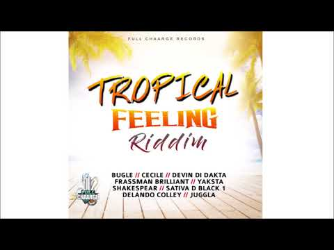 Tropical Feelings Riddim Mix ►AUG 2018► Bugle,Cecile,Devin Di Dakta & More (Full Chaarge Records)