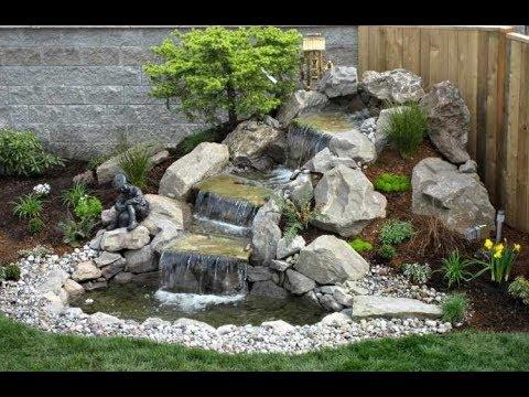 Como hacer una fuente decorativa con materiales for Como hacer una pileta en el jardin